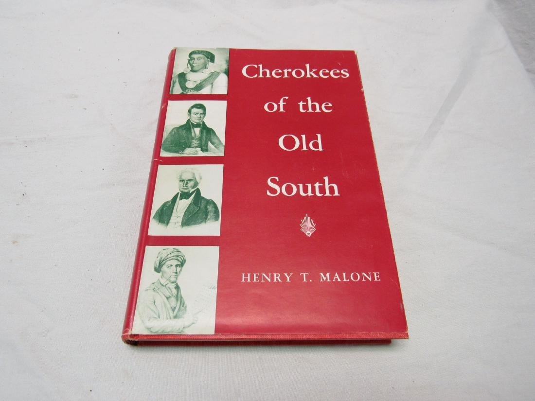 Signed First Edition Cherokees of the Old South