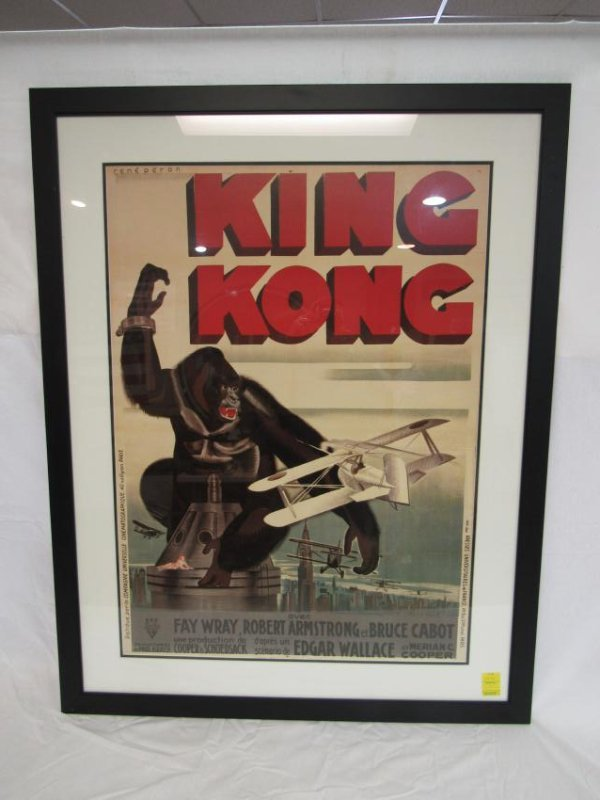 Re-Issued King Kong Movie Poster