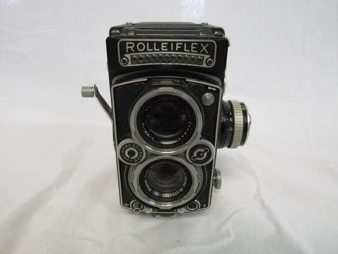 1950s German Rolleiflex Camera