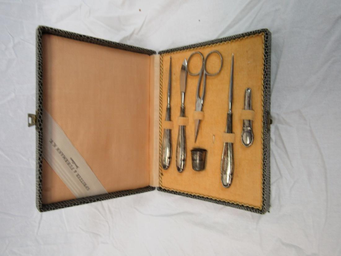 Antique Sewing Set