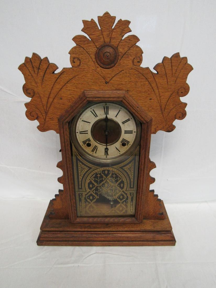 1878 Ingram Gingerbread Kitchen Clock