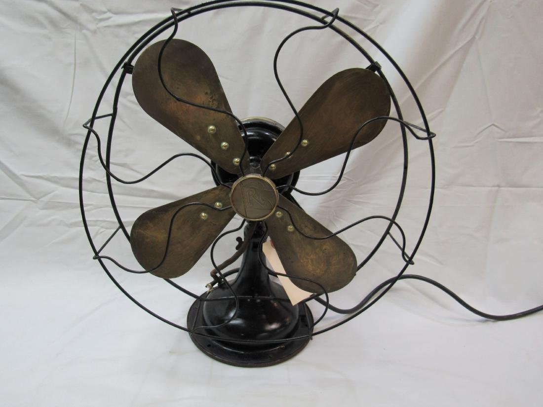 Antique Brass Blade Robbins and Myers Fan