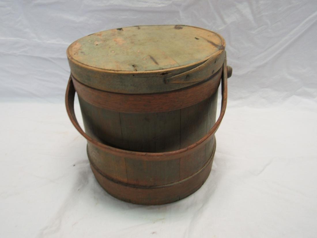 Antique Firkin Bucket
