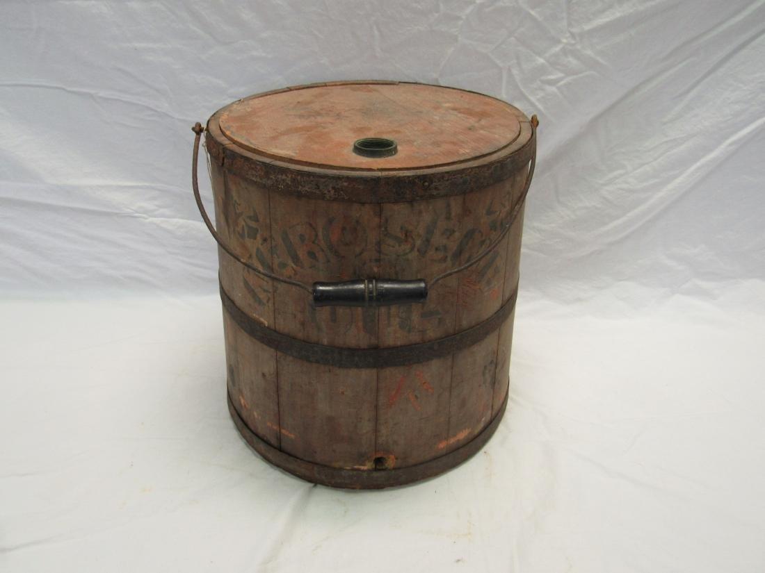 Antique Kerosene and Oil Bucket