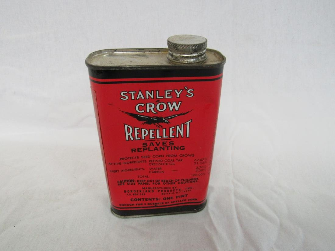 New old Stock Stanley's Crow Repellent