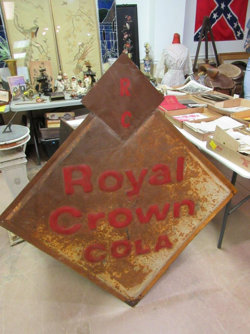 Early RC Cola Sign
