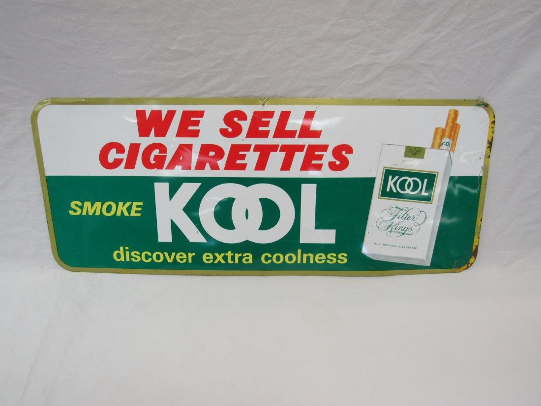 1965 Smoke Kool Cigarettes Sign