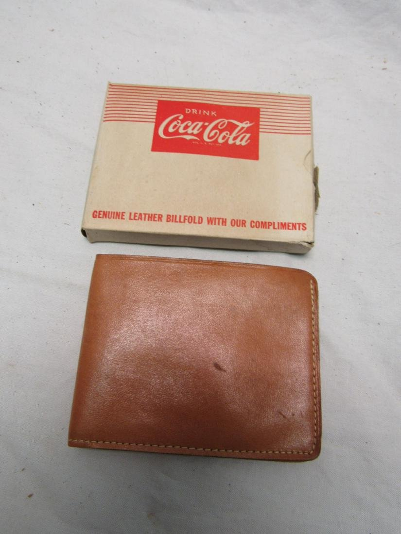 1950's New Old Stock Coca-Cola Billfold