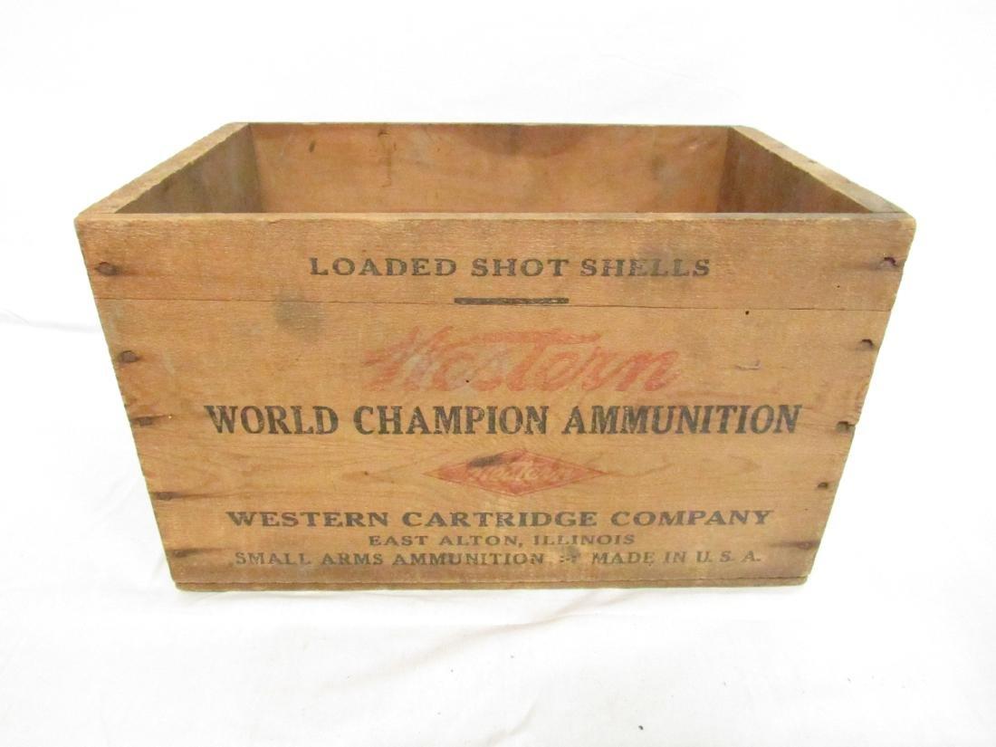 Vintage Western Ammunition Advertising Box