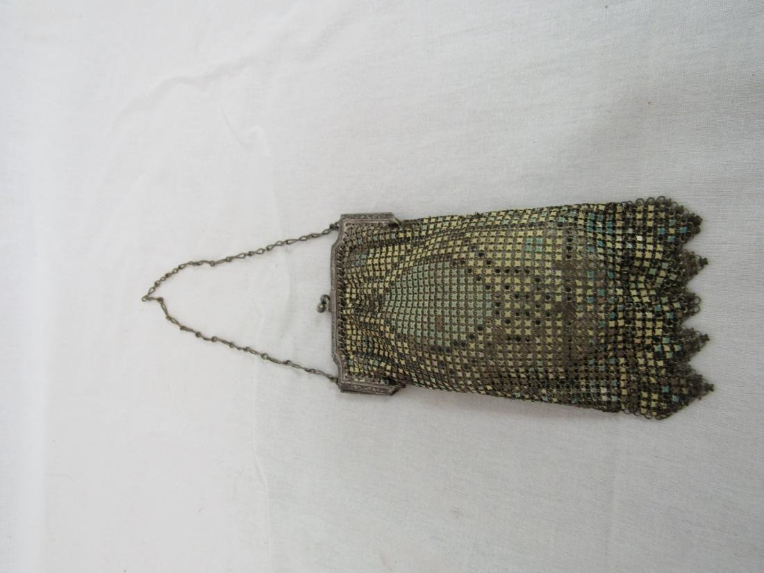 Whitting and Davis Victorian Mesh Purse