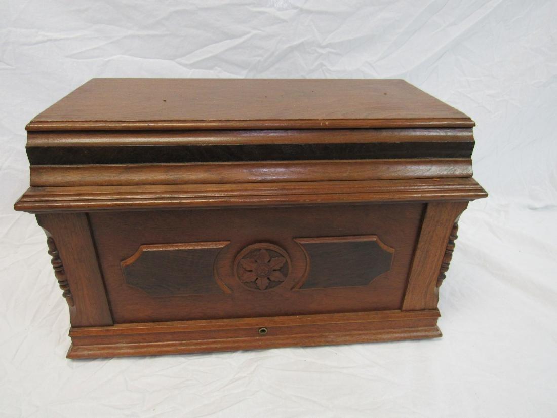Victorian Sewing Jewelry Box