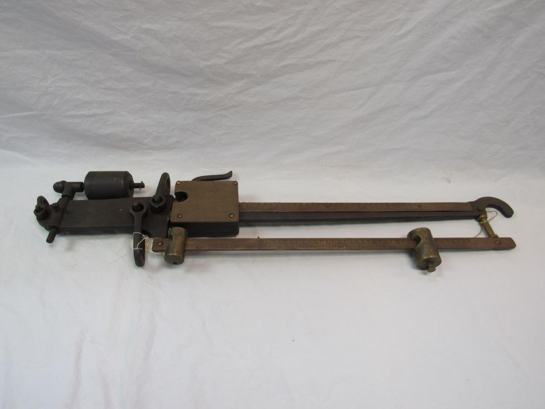Antique McDonald Pitless US Standard Brass and Cast