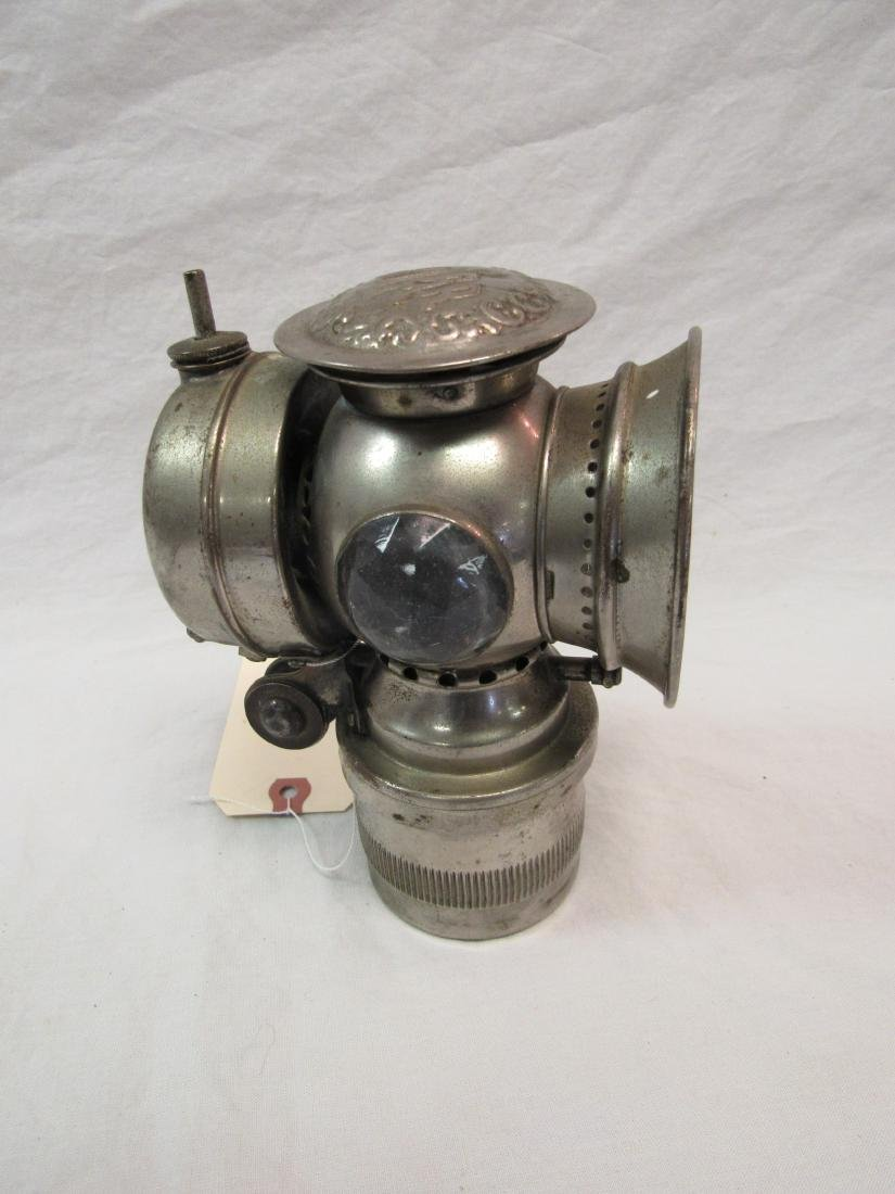 Antique Badger Solar Bicycle Light