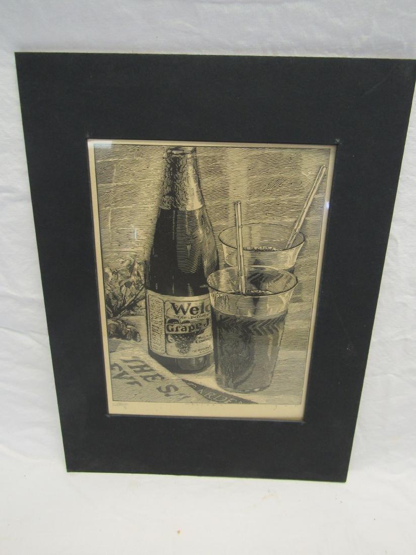 Earl Washington Wood Block Print, Welches