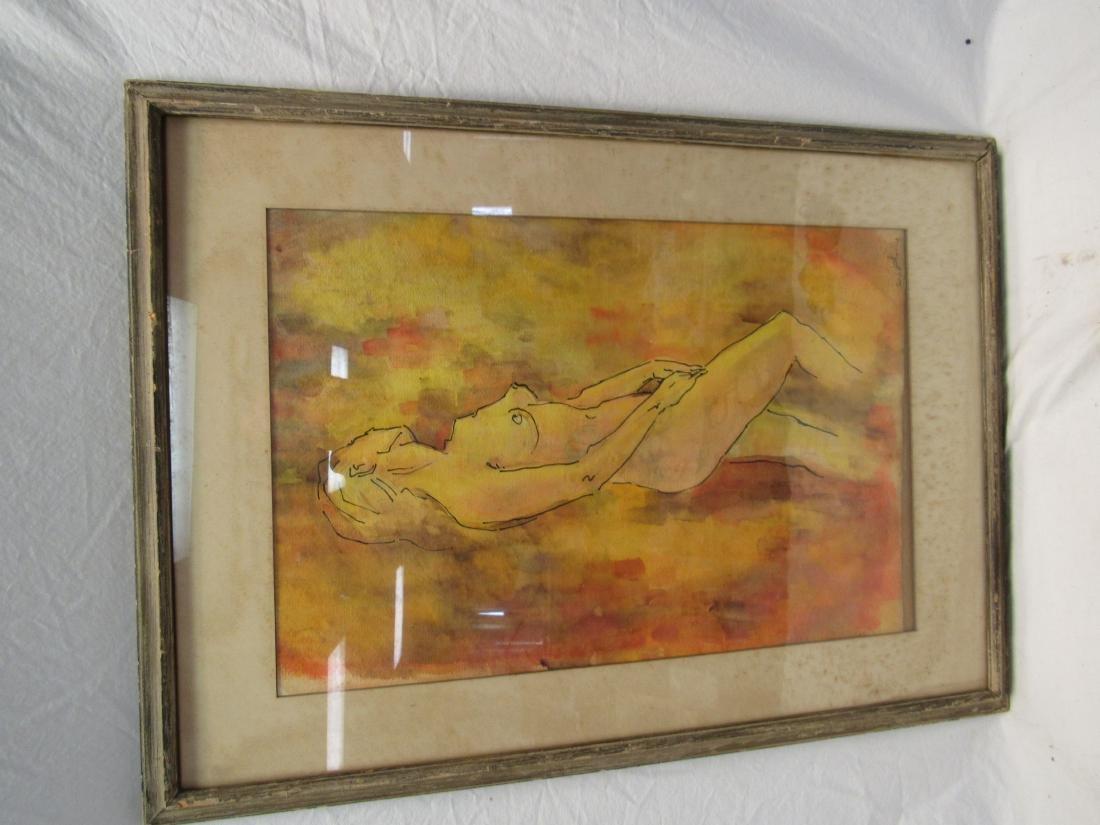 Original Nude Watercolor
