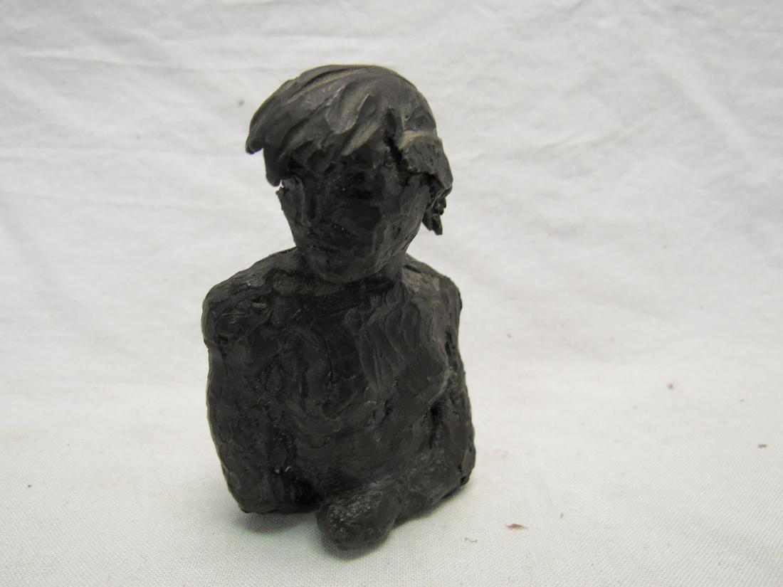 Miniature Bronze Bust