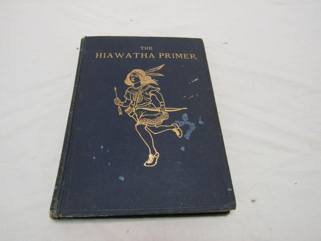 First Edition Hiawatha Primer