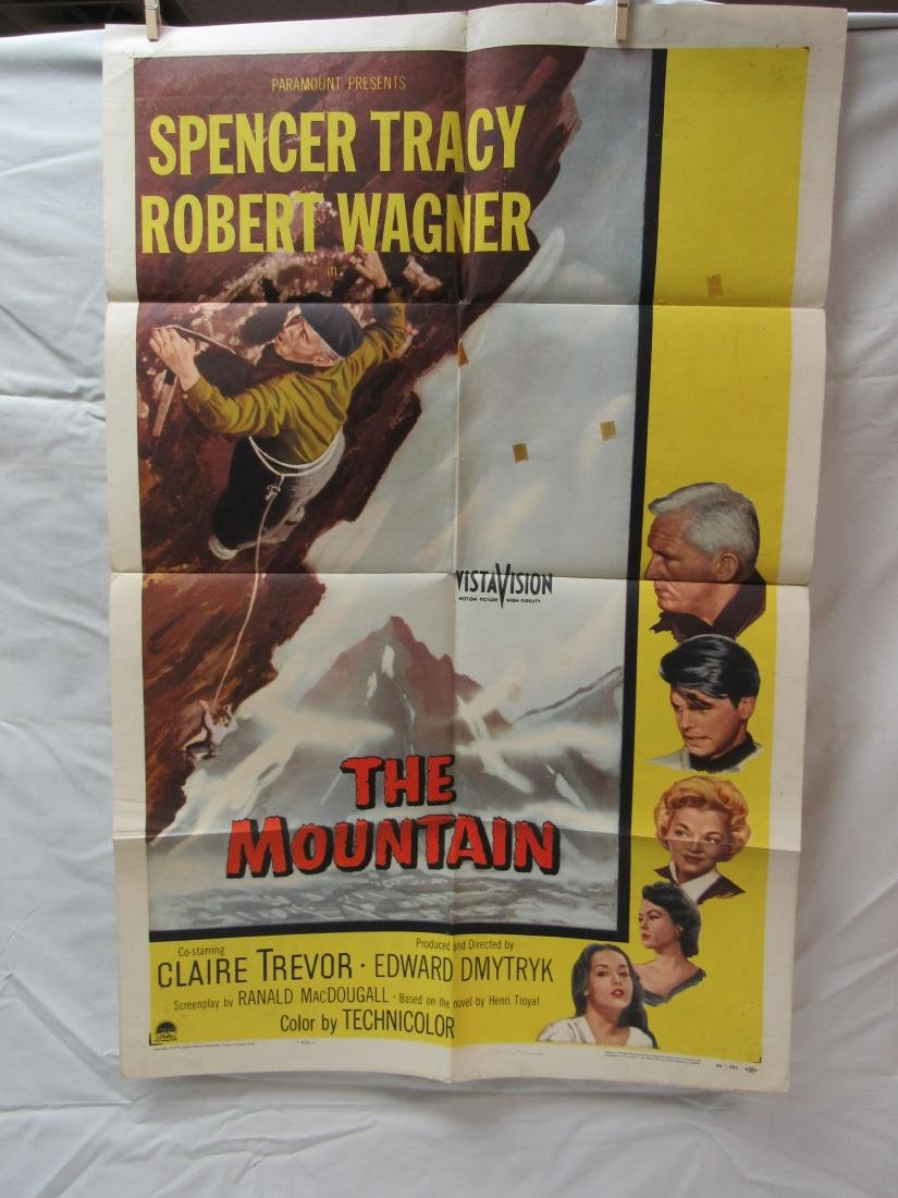 The Mountain Theatrical Movie Poster