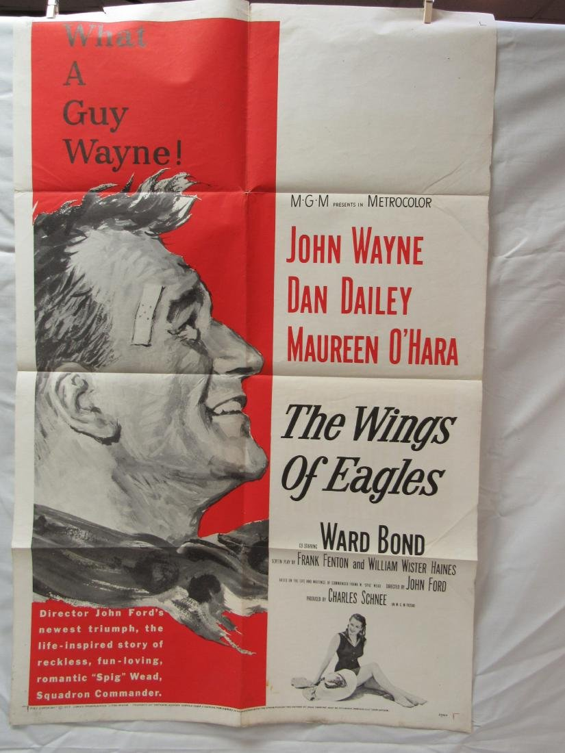 Original 1957 The Wings of Eagles Theatrical Movie