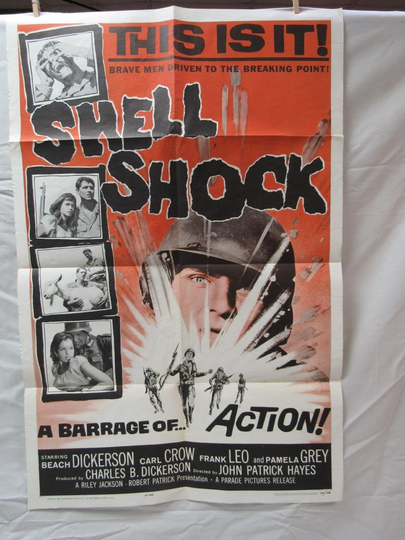Original Shell Shock Theatrical Movie Poster