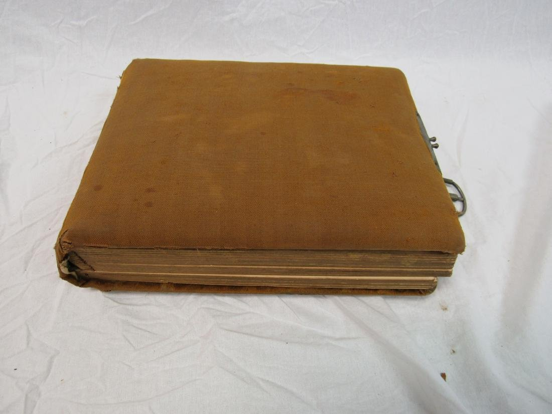 Victorian Era Photo Album with CDVs Cabinet Cards