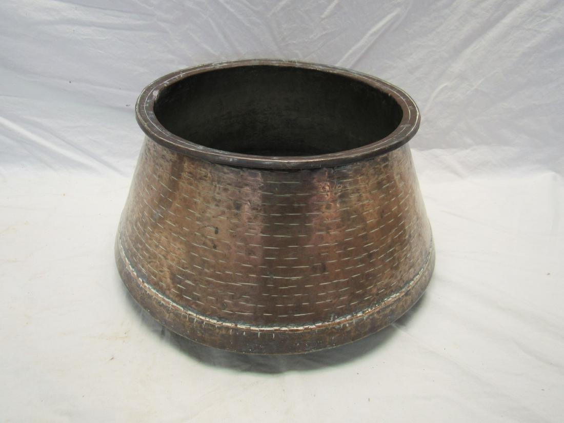 Antique Hand Made Copper Pot