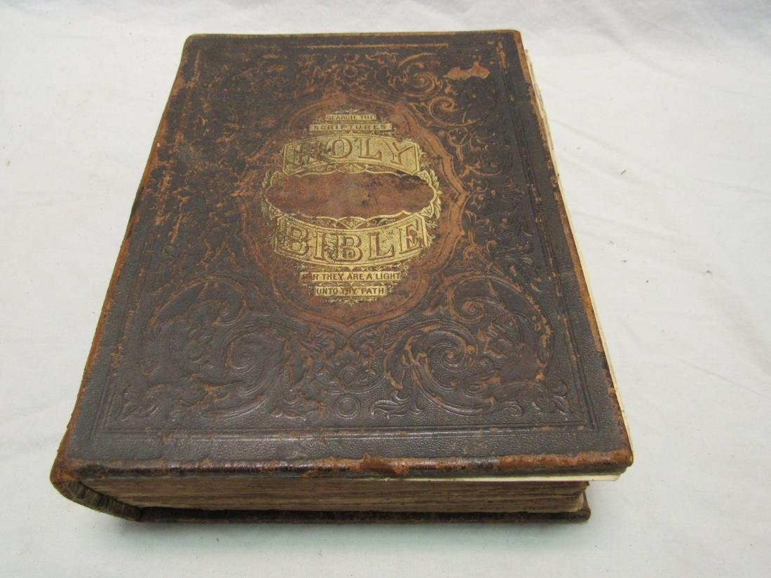 1870 JR Jones Holy Bible