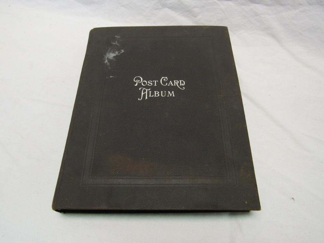 Antique Post Card Album