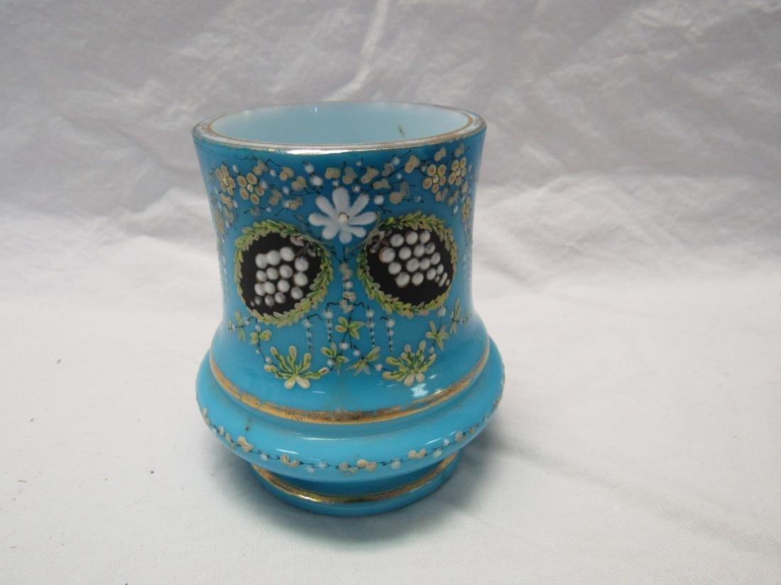 Victorian Hand Enameled Vase