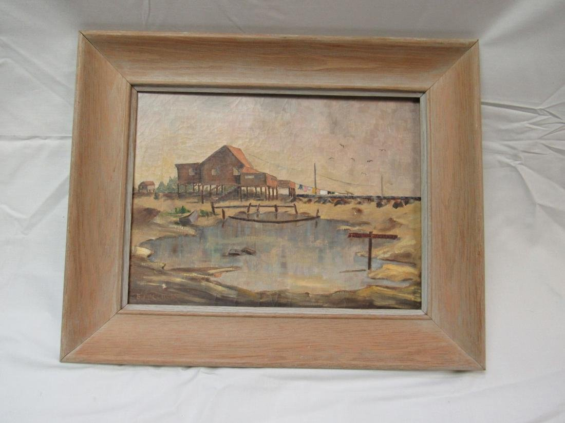 Original E. McCulloh Oil on Canvas