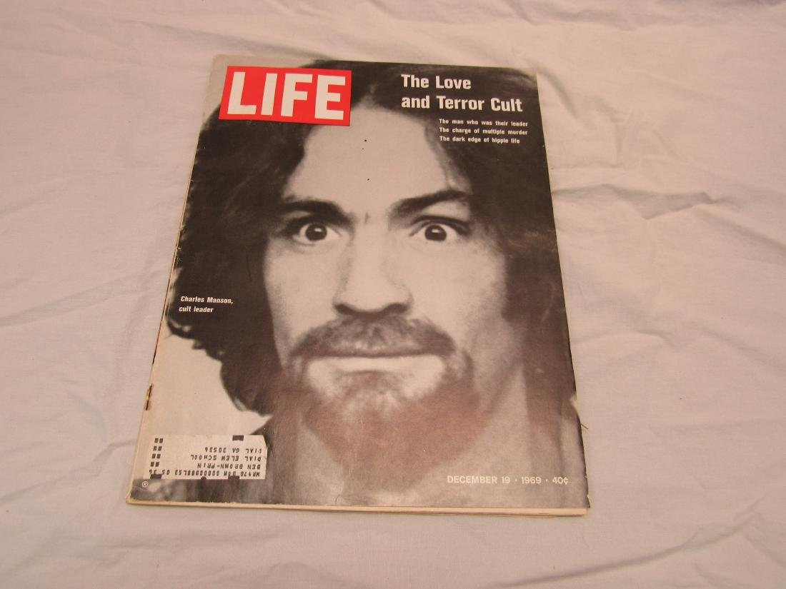 December 1969 Life Magazine with Charles Magazine on