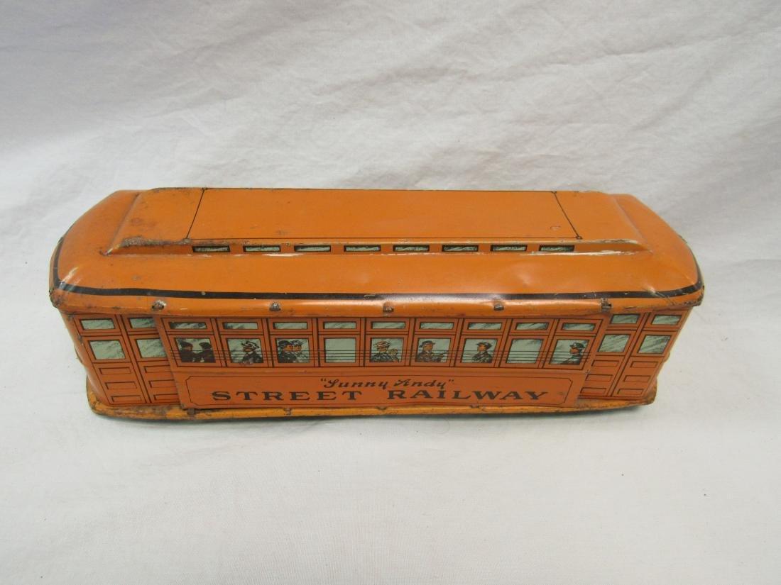 Vintage Sunny Andy Street Railway Car