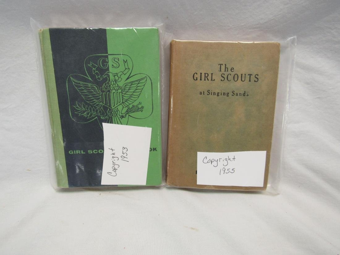 Lot of 2 Vintage Girl Scout Books