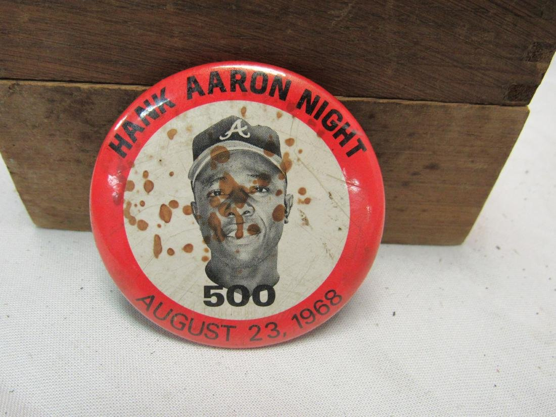 Hank Aaron Night Button