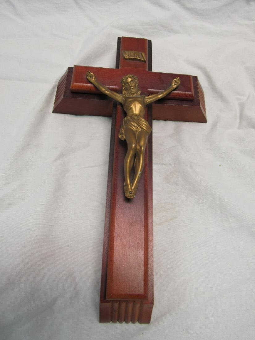 Vintage Sick Call and Last Rights Crucifix