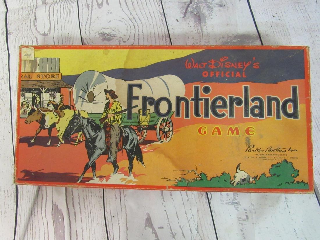 1955 Walt Disney Frontierland Game