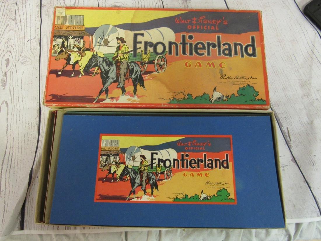 1955 Walt Disney Frontierland Game - 2