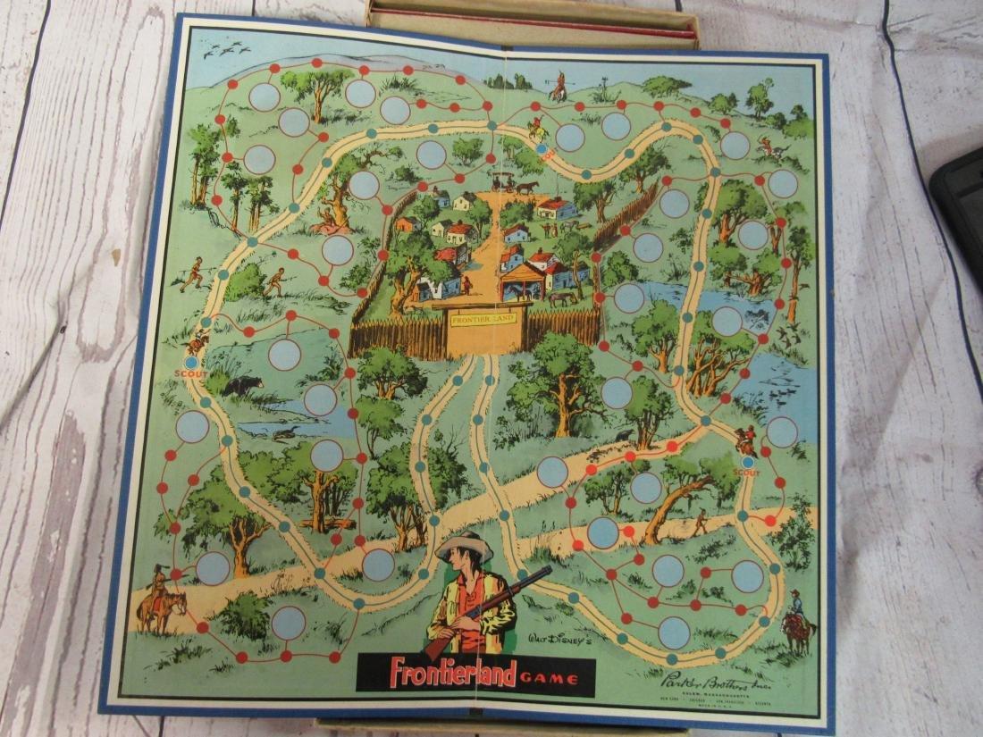 1955 Walt Disney Frontierland Game - 4