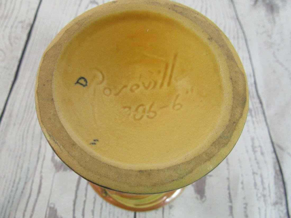 Roseville Pinecone Vase - 3