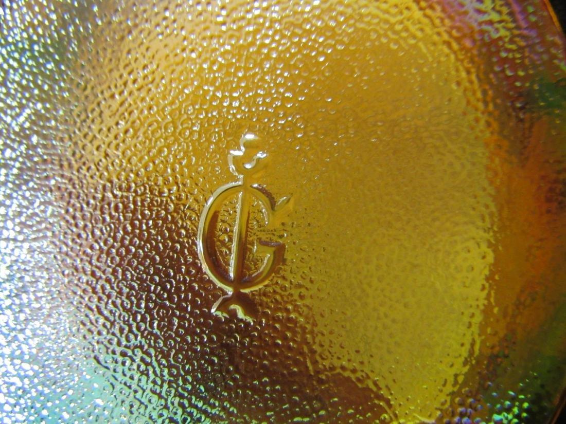 Imperial Carnival Glass Turkey Box - 5