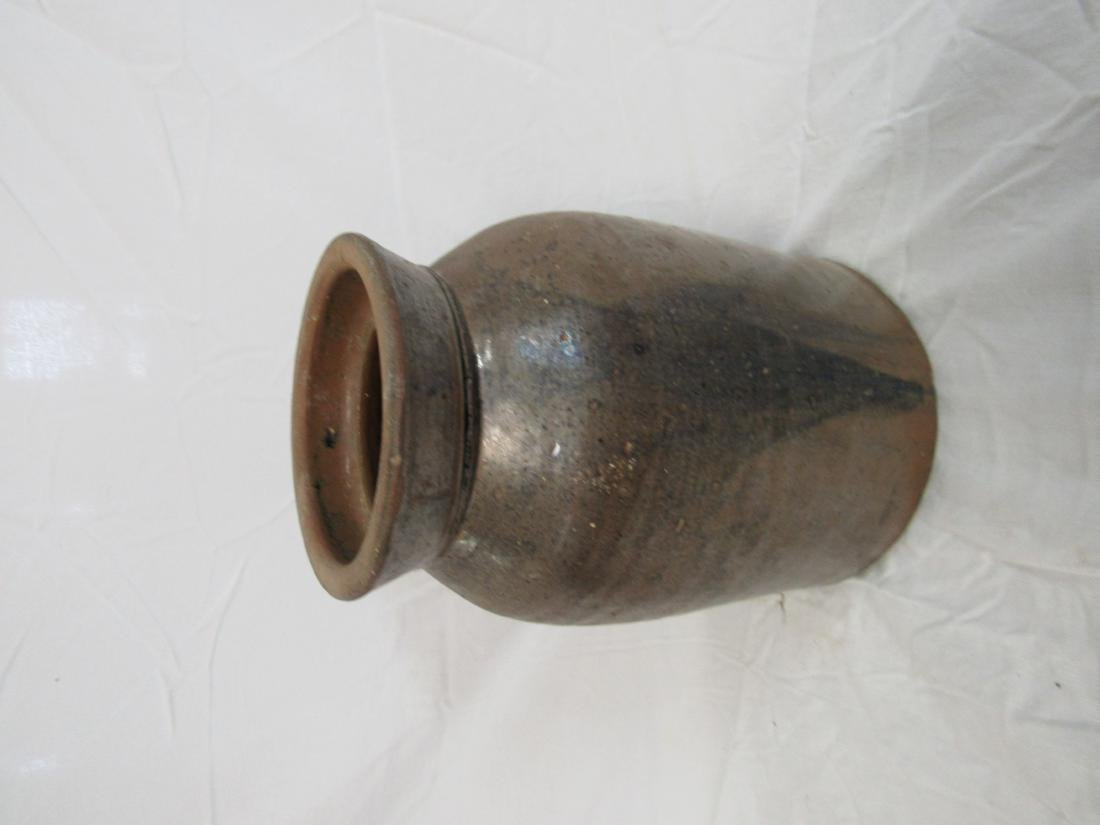 Antique Stoneware Canning Crock from Georgia