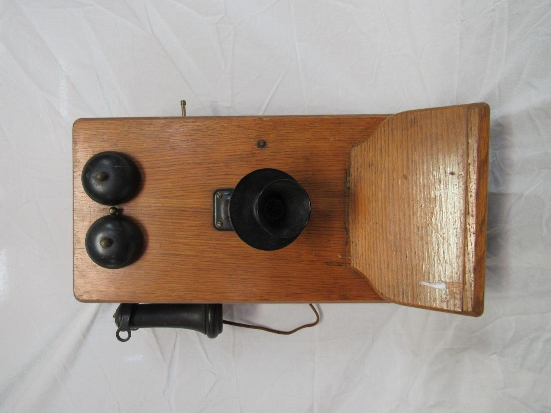 Antique Hand Crank Phone