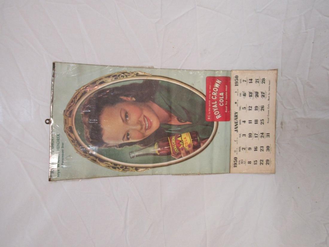 1950 RC Cola Calendar