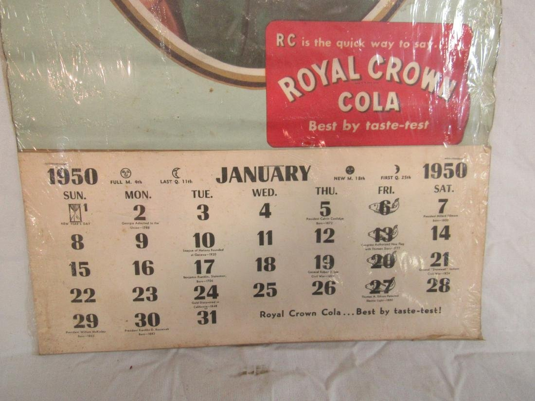 1950 RC Cola Calendar - 4