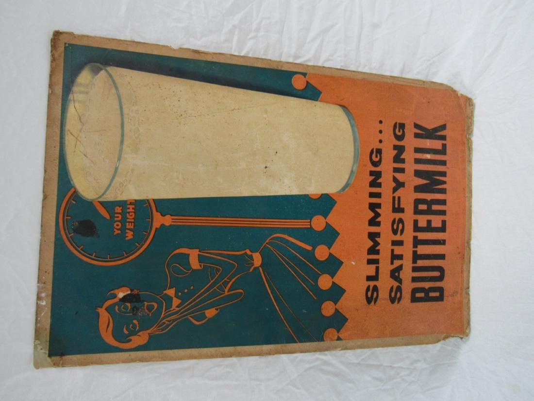 Vintage Buttermilk Advertising