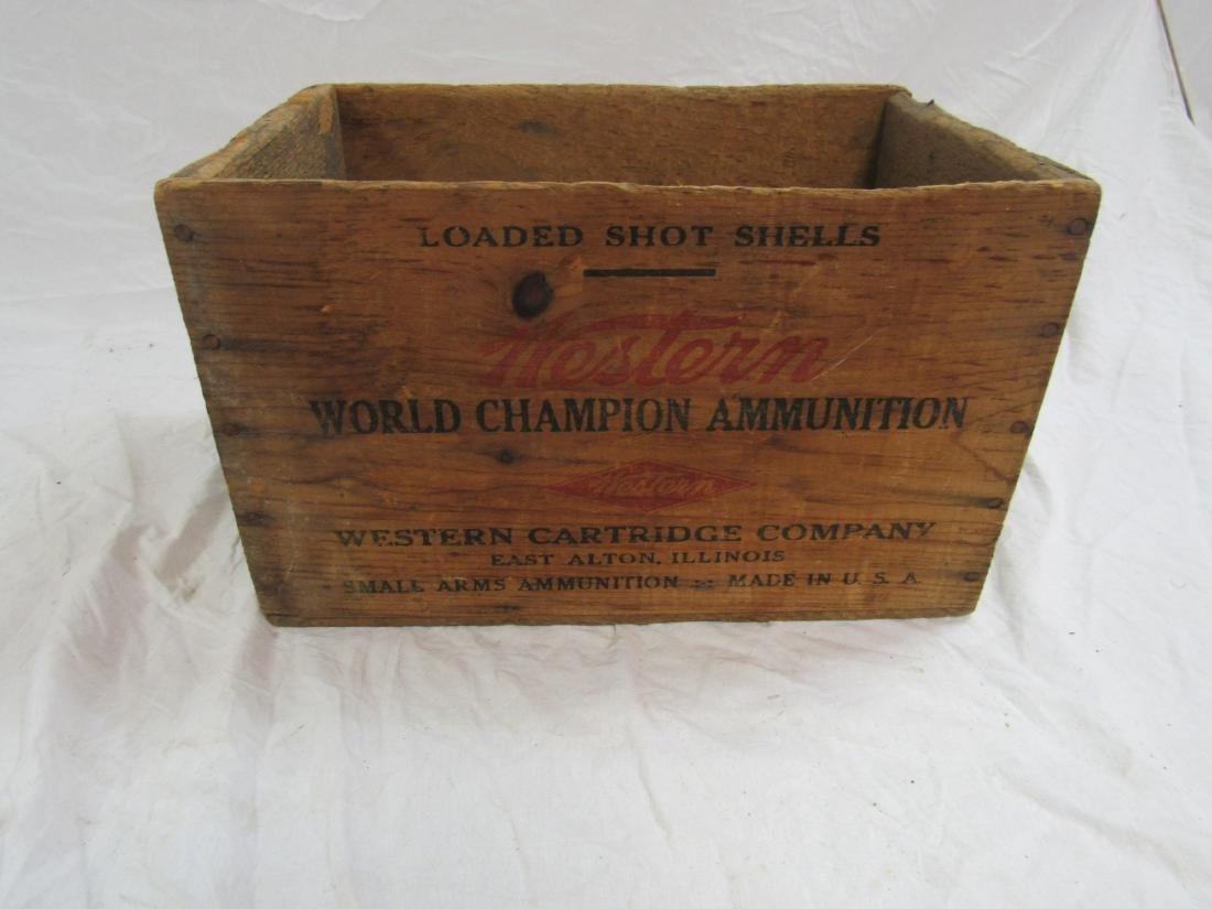 Vintage Western Ammunition Box