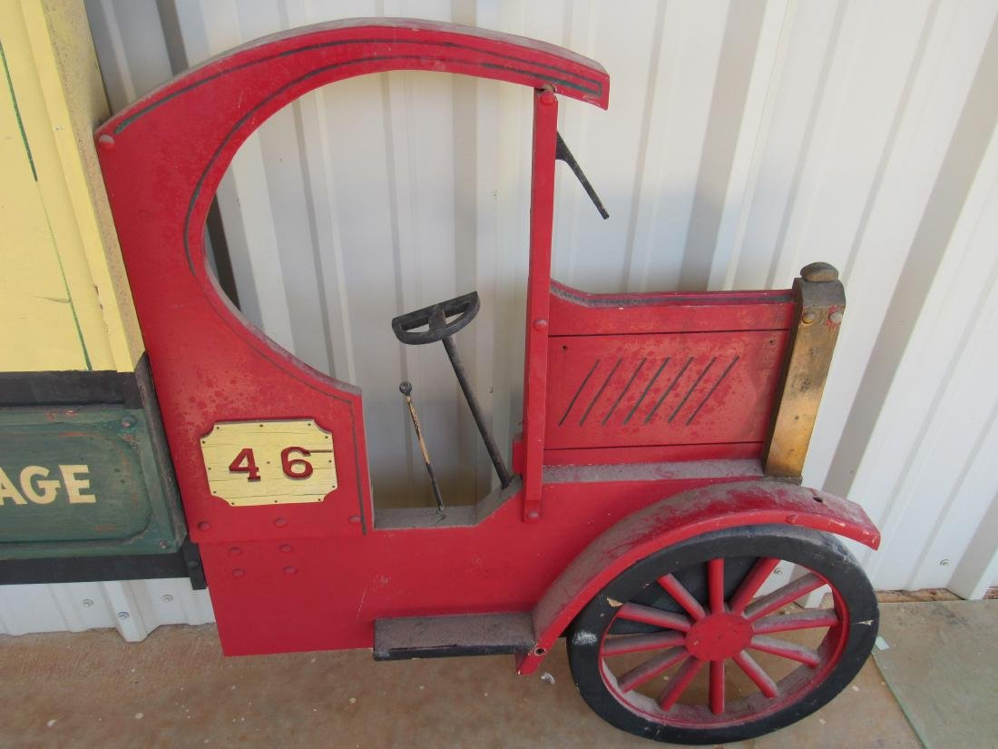 Vintage Panama City Model T Truck Sign - 3