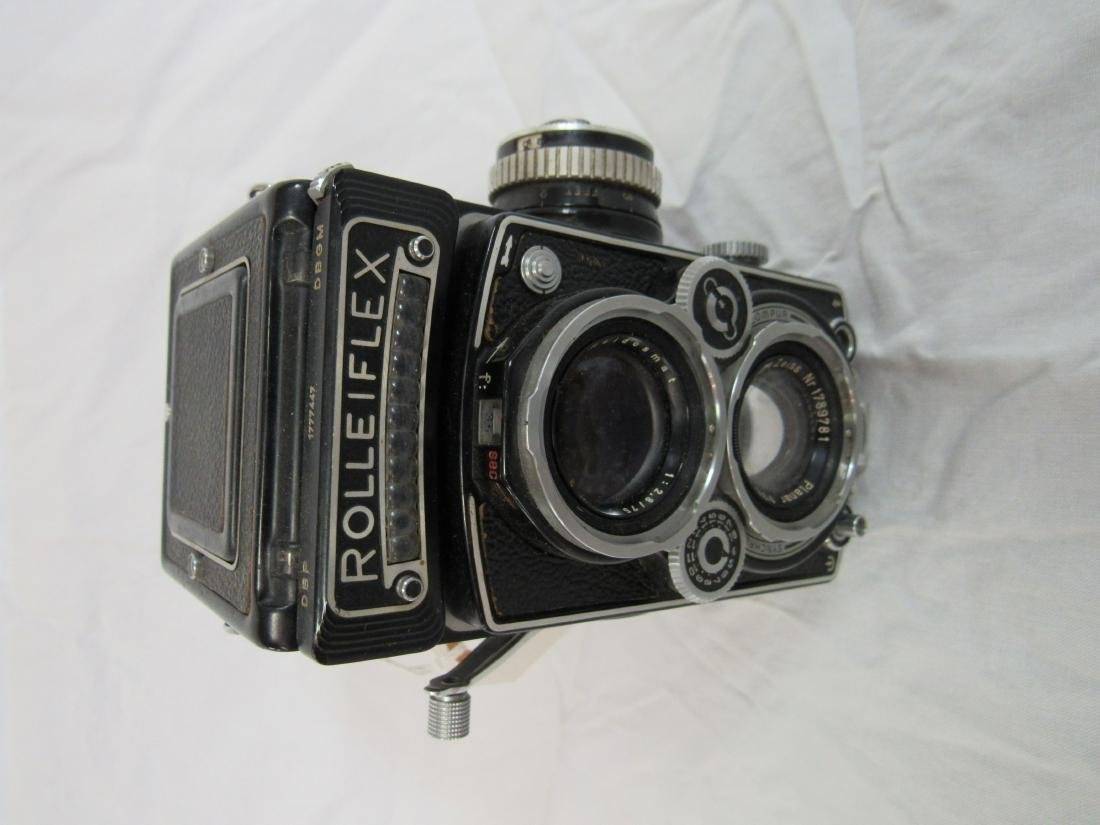 1950's German Rolle flex Camera