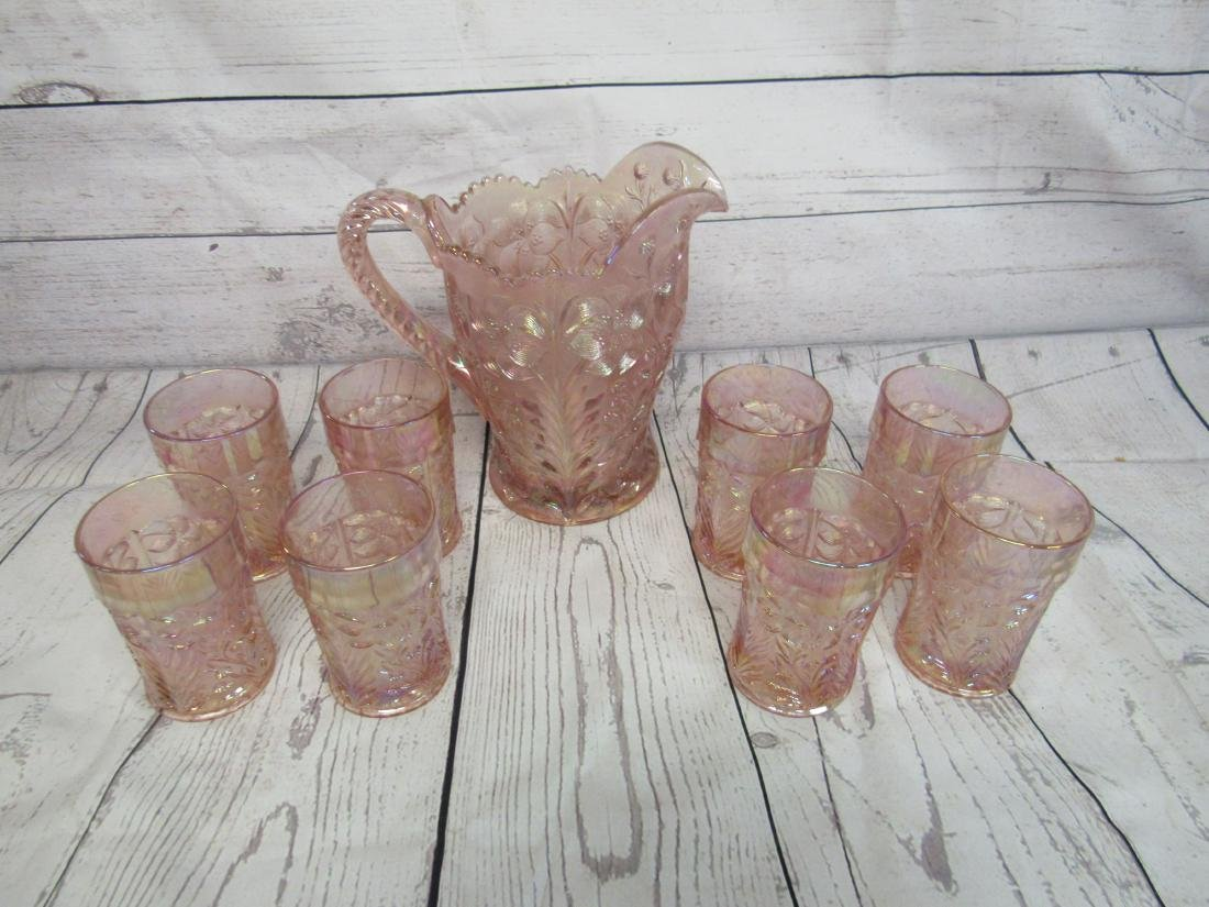 Imperial Tiger Lily Pitcher & Tumbler Set