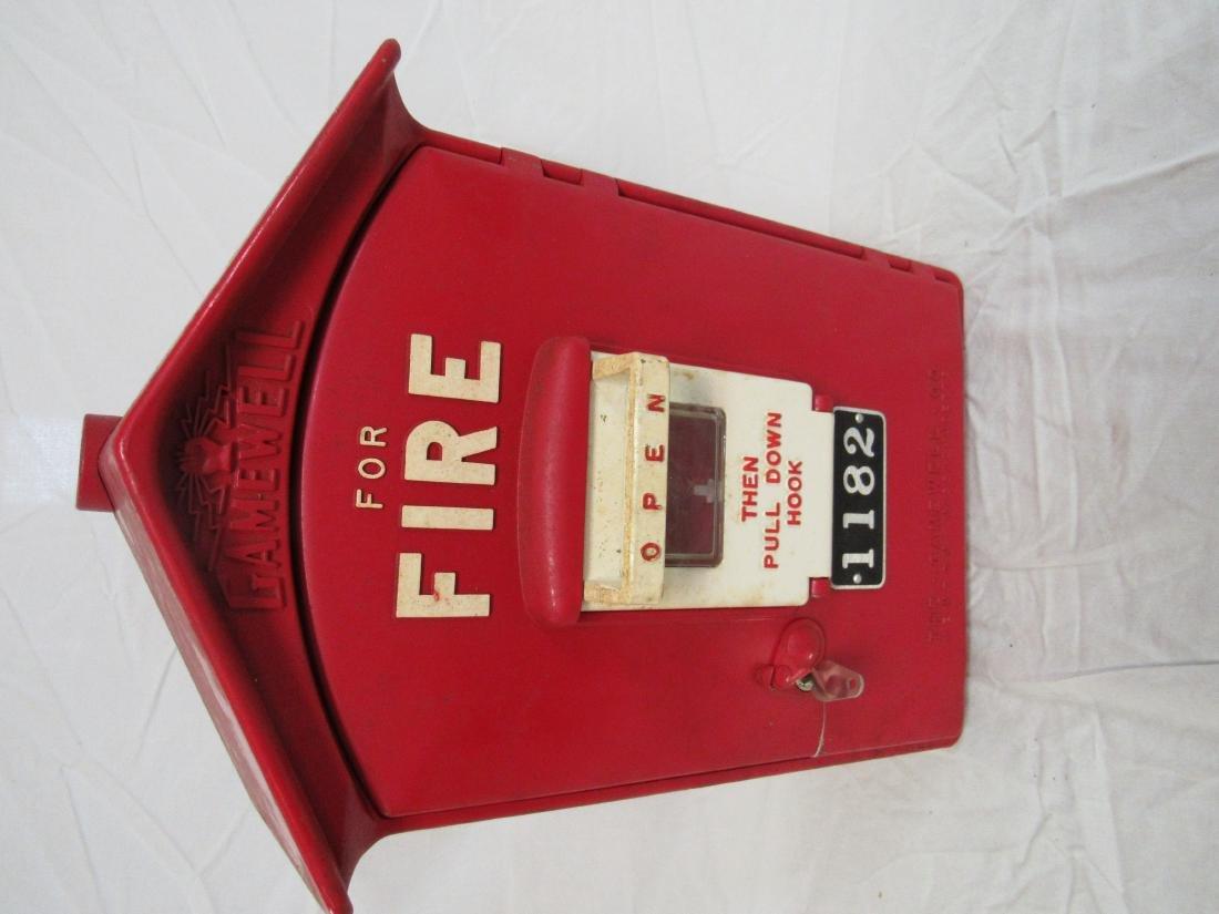 1958 Gamewell Fire Call Box
